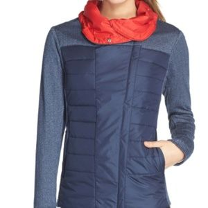 Helly Hansen Astra ladies jacket navy and red
